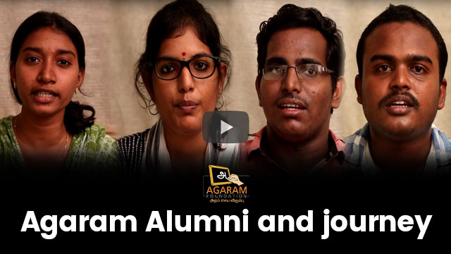 Agaram Alumni and journey
